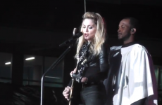 VIDEO: Madonna gets her bottom out for Irish fans