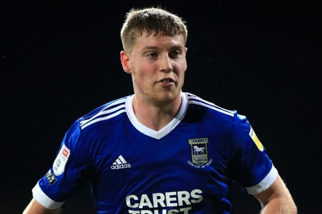 Mark McGuinness of Ipswich Town (file pic).