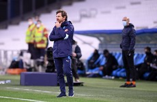AVB's Marseille beaten at home by Nimes and remain 8 points off Ligue 1 pace