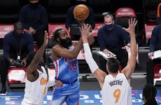 Harden makes seamless debut with 'super-team' Nets