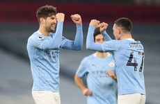 Man City win sees them leapfrog Liverpool and go second