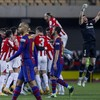 Barcelona stunned by Bilbao in Spanish Super Cup showpiece as Messi sees red