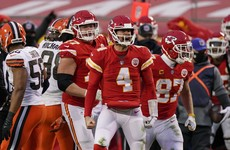 NFL champions Chiefs overcome Mahomes injury to advance