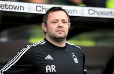 Andy Reid steps down as Ireland U18s head coach to take role at Nottingham Forest