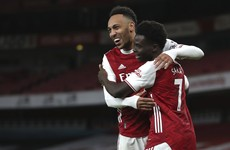 Aubamayeng bags brace and youngsters shine bright as Arsenal ease past Newcastle