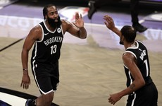Harden and Durant lead Nets past Bucks, Warriors hold off NBA champion Lakers