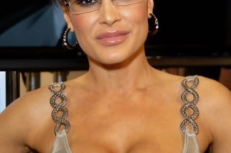 Lisa Ann, all dressed up as Sarah Palin