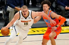 Nikola Jokic leads Denver Nuggets to win over Oklahoma City Thunder