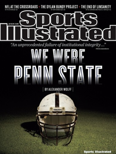 We Were Penn State: here's this week's cover of Sports Illustrated