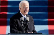 'Let's start afresh. All of us... We must end this uncivil war': Biden calls for unity in inauguration speech