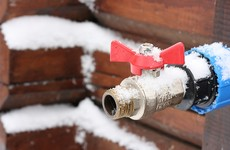 People in Dublin asked to conserve water and check for leaks ahead of sub-zero temperatures
