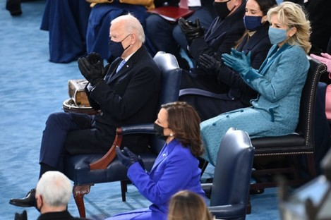 US President Joe Biden and Vice President Kamala Harris.