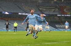 Man City's late show sees off determined Villa