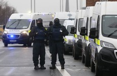 Gardaí arrest 11 at protest outside Four Courts in Dublin city centre