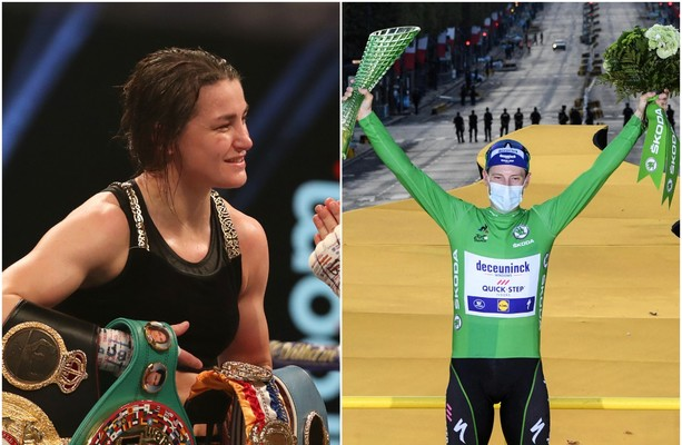 Katie Taylor and Sam Bennett among nominees for 2020 RTÉ Sportsperson of the Year