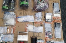 Two men due in court after gardaí seize over €122k worth of suspected cocaine and cannabis