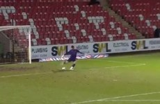 Newport 'keeper's 105-yard goal breaks Guinness World Record for longest strike ever