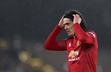 Solskjaer urges Man Utd strikers to follow Cavani's example
