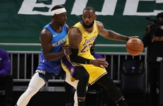 LeBron James drops season-high tally as Lakers improve to 8-0 on the road