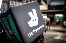 Deliveroo drivers strike in Dublin for better working conditions