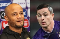 Kompany lauds 'tough as iron' Cullen as Ireland midfielder makes his mark at Anderlecht