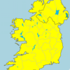 Status Yellow snow/ice warning in effect nationwide