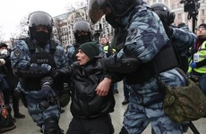 Kremlin accuses US of meddling after 3,500 protesters detained