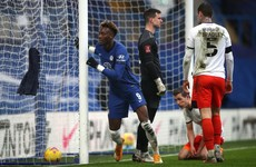FA Cup hat-trick for Abraham eases pressure on Lampard