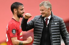 Practice makes perfect for Bruno as Solskjaer hails United's matchwinner