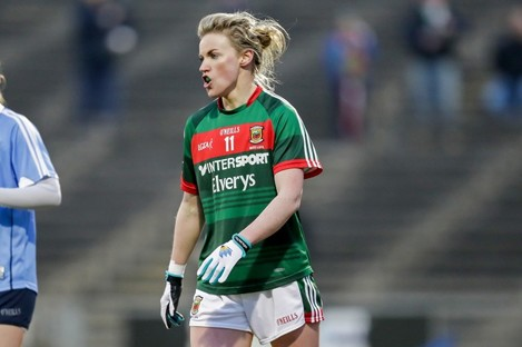 Fiona McHale last played for Mayo in 2018.