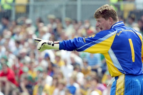 Shane Curran during his final season with Roscommon in 2005.
