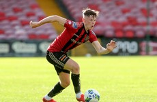 Boost for Bohemians as highly-rated Irish underage international re-signs