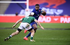 France centre Vakatawa ruled out of Six Nations clash with Ireland