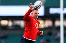 Another blow for England as Underhill is withdrawn from 6 Nations squad with hip injury
