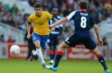 Done deal: Chelsea complete Oscar signing