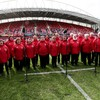 'There was an energy about her... then she'd sing and lift the roof off Thomond Park'
