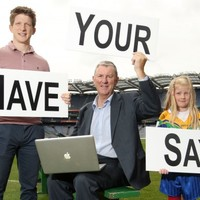 The GAA want you to have YOUR say on the state of modern football