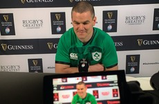 Sexton spots 'good omens' for Ireland as captain closes in on 100 caps
