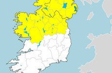 Status Yellow rainfall warning kicks in for many areas with risk of flooding and thundery downpours