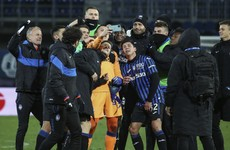 Ten-man Atalanta see off Lazio in Coppa thriller as Juve cruise past SPAL