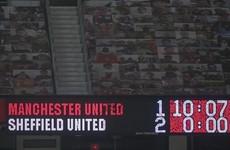 Solskjaer critical of referee after United's shock defeat to rock-bottom Blades