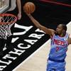 Brooklyn Nets eke out overtime win against the Atlanta Hawks