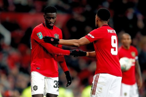 Axel Tuanzebe and Anthony Martial have been subjected to racist abuse on social media in the wake of the defeat to Sheffield United.