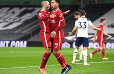 As it happened: Tottenham Hotspur vs Liverpool, Premier League