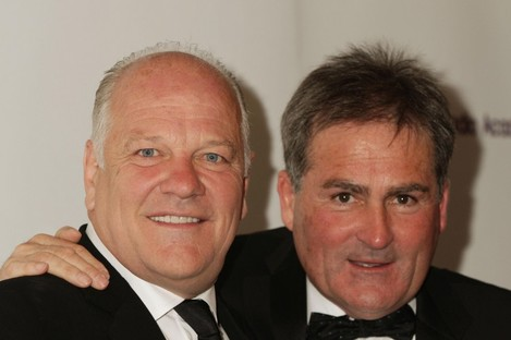 Andy Gray and Richard Keys, pictured in 2012.