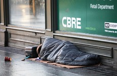 Homeless figures dip but charity warns of 'alarming rise' in homeless single people