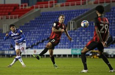 Reading hit three first-half goals in victory over fellow play-off contenders Bournemouth