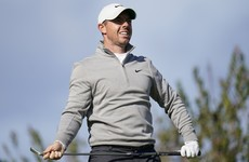 McIlroy sits four shots off the lead heading into the weekend at Torrey Pines