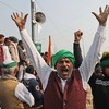 Protesting Indian farmers begin hunger strike amid fury against government