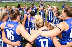 'One of the most exciting Irish talents' helps North Melbourne power top of AFLW ladder